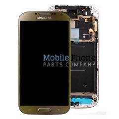 Genuine Samsung Galaxy S4 LTE Plus i9506 LCD + Digitiser Brown - Part No: GH97-15202A